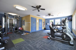 fitness center at coolidge place apartments